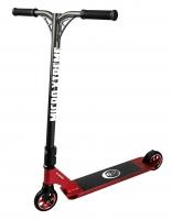 MX Crossneck XL Rojo Metalizado - Patinete de Saltos para Riders Semipro y Pro. Calidad suiza al mejor precio!!