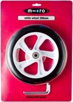 Rueda Micro White 200mm - Rueda de PU 200mm para gama Micro y Flex