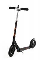 MICRO BLACK Interlock - Desarrollado especialmente para las necesidades de los adultos, este scooter es el más adecuado por sus ruedas extra grandes. Su estructura garantiza una postura ergonómica y agradable en cualquier trayecto por diferentes terrenos. ***NOVEDAD***Candado Integrado***