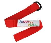 Scoot nPull Rojo - Tirador de tela para tu patinete Micro