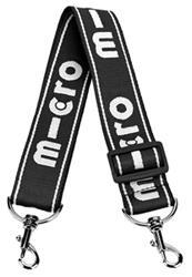 Micro Carry Strap Negra - Correa para llevar tu scooter al hombro de manera comoda.