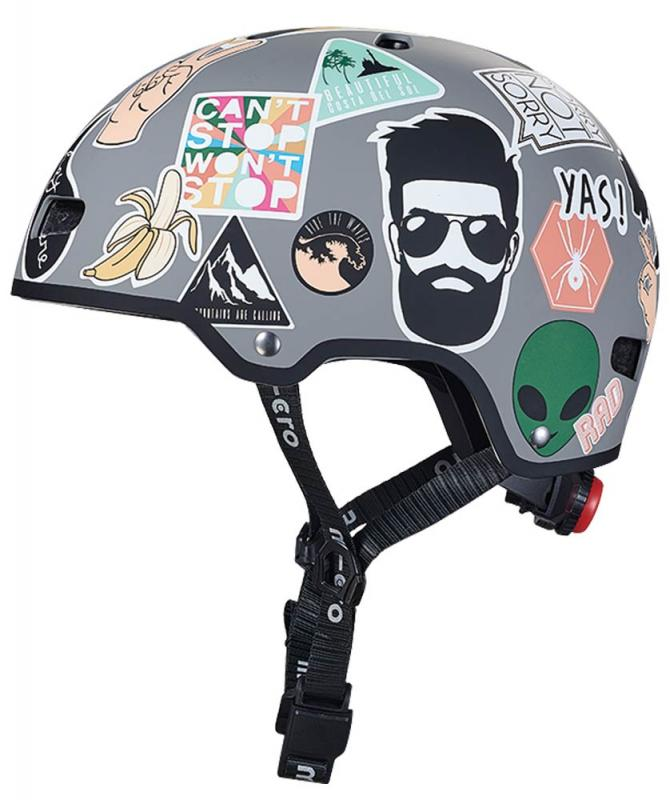 Casco Stickers L - Talla