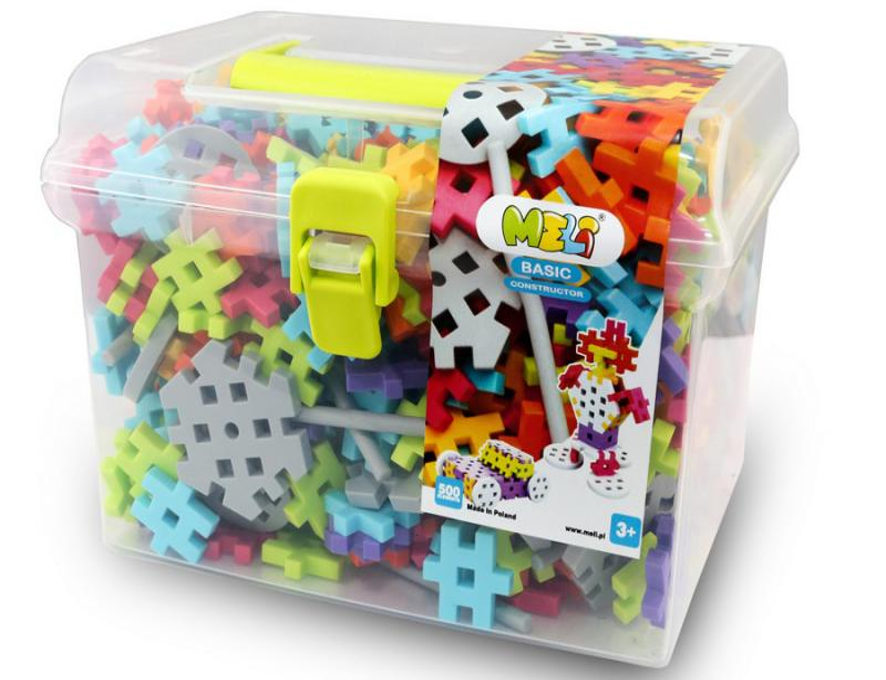 MELI Basic Constructor Travel Box 500pcs -