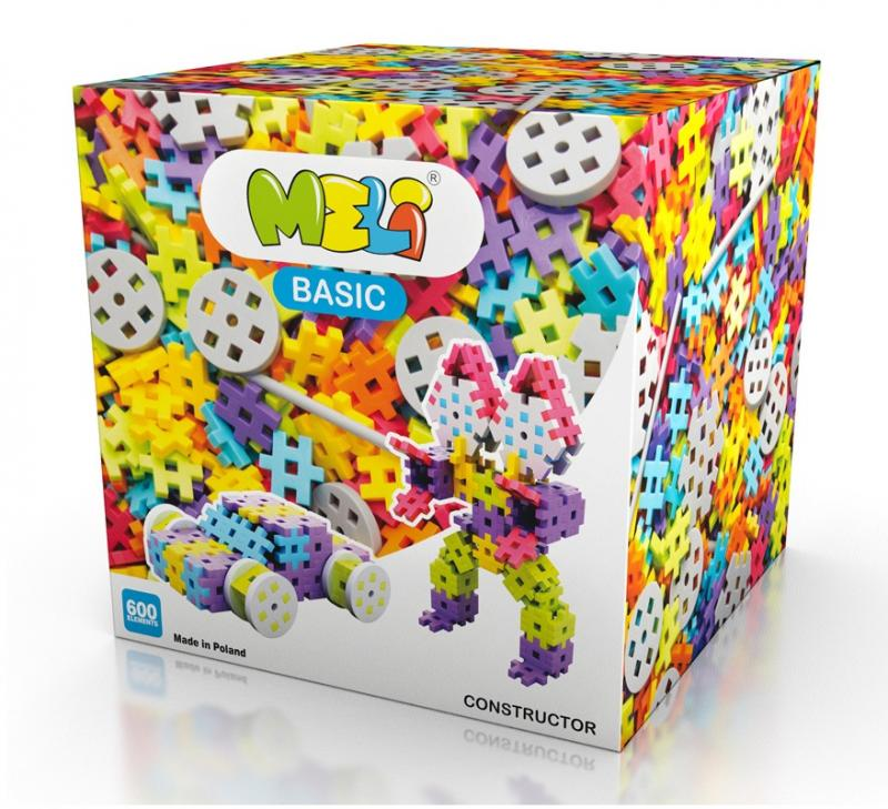 MELI Basic Constructor 600pcs -
