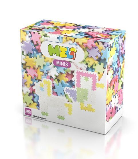 MELI Minis 200pcs Pastel -