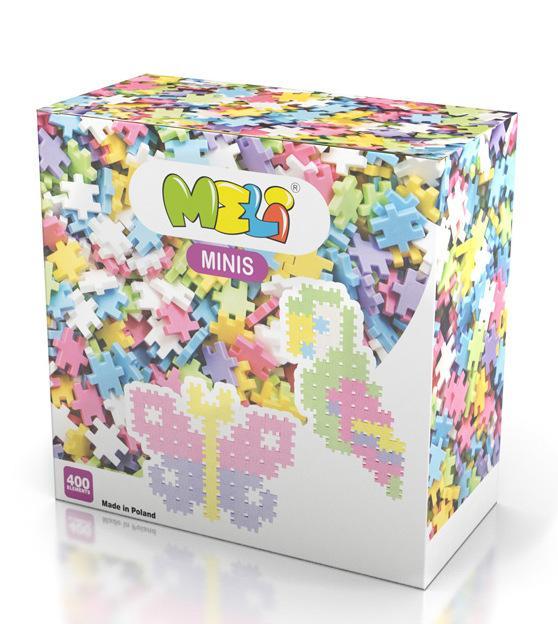 MELI Minis 400pcs Pastel -