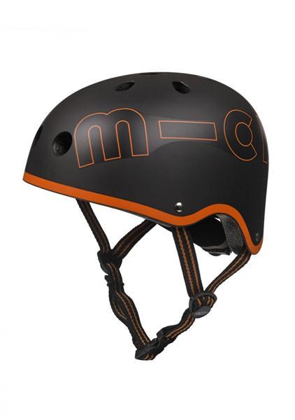 Casco Negro/Naranja Micro -