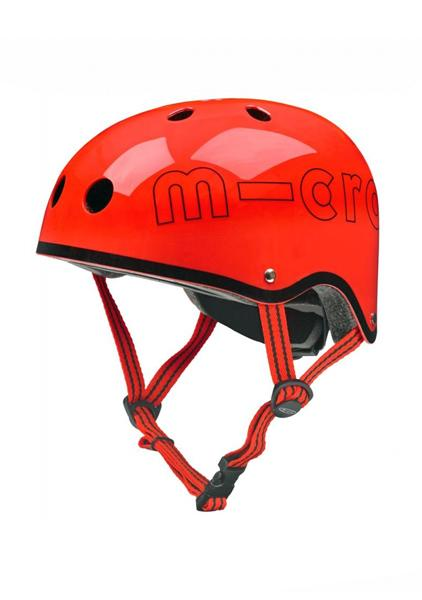 Casco Rojo Brillante Micro -