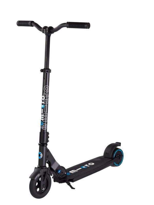 E-MICRO ONE - El primer scooter eléctrico del mundo equipado con tecnología de control del movimiento