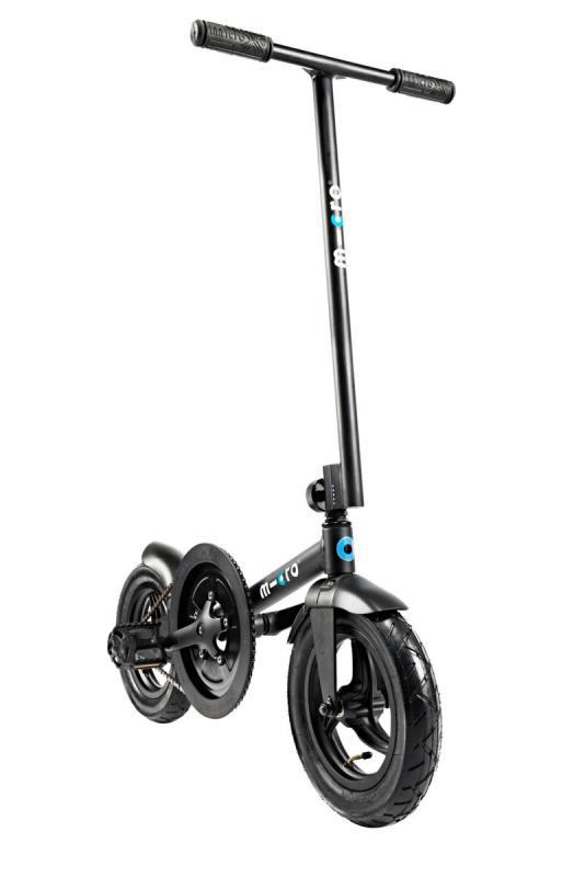 MICRO PEDALFLOW NEGRO - Tu gimnasio particular sobre ruedas