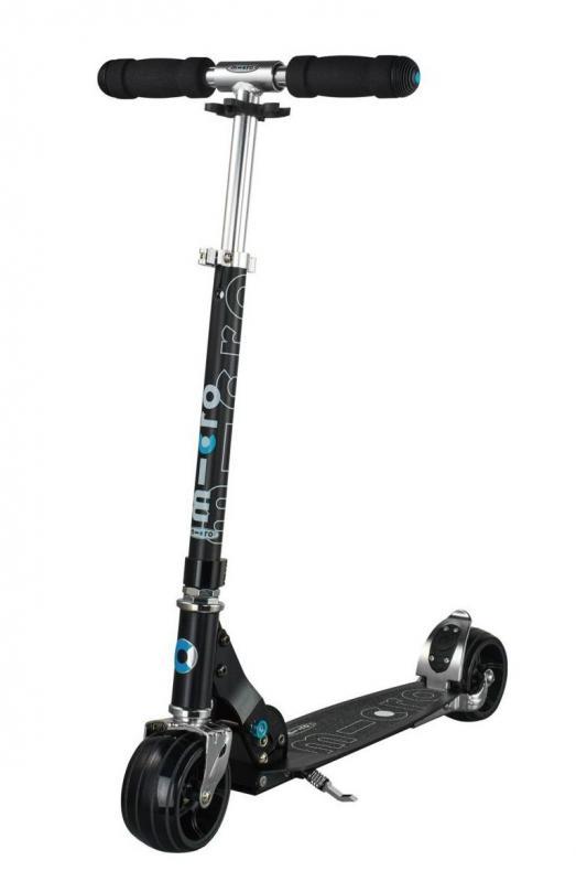 MICRO ROCKET NEGRO - Excelente patinete de ruedas extra-anchas y diseño agresivo
