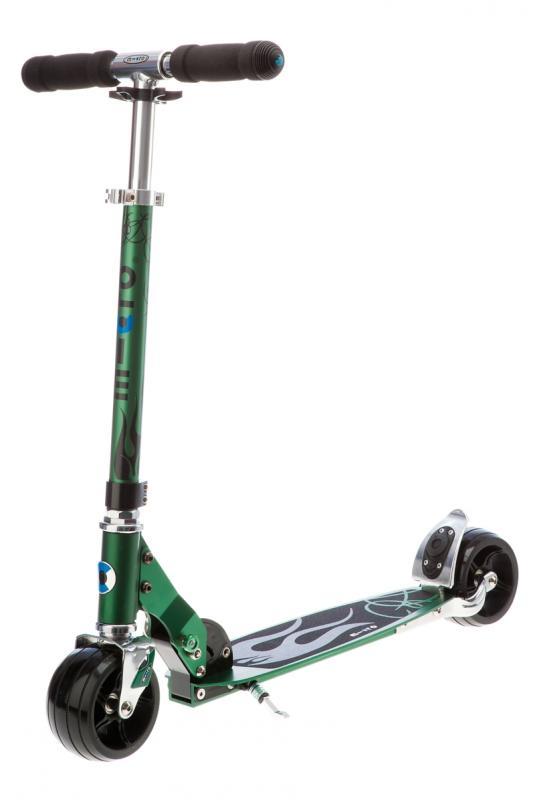 MICRO ROCKET VERDE - Excelente patinete de ruedas extra-anchas y diseño agresivo
