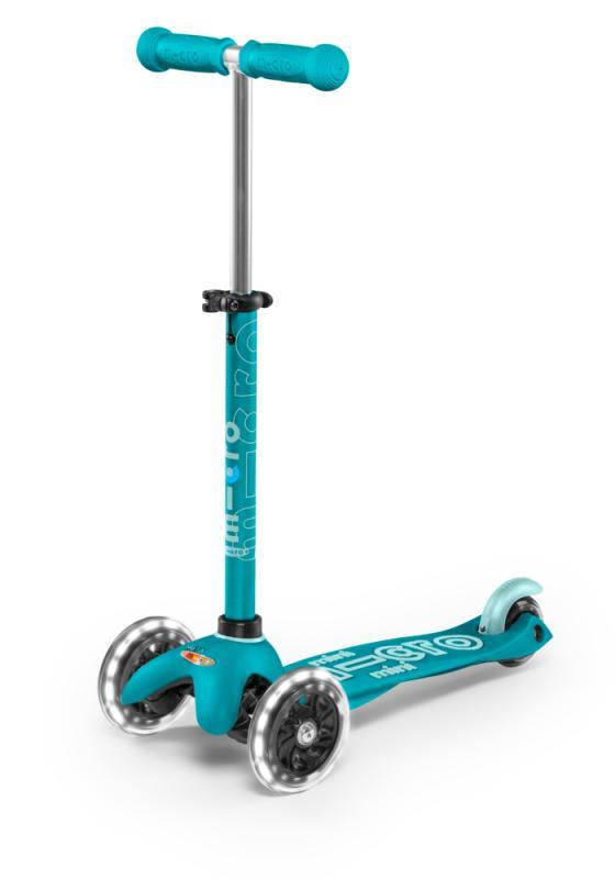 MINI MICRO DELUXE AQUA LED - Deluxe Aqua con ruedas de LED
