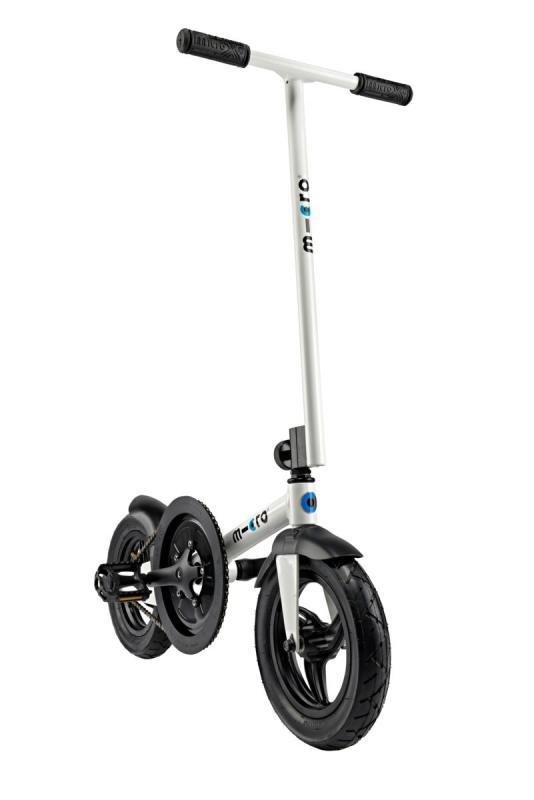 MICRO PEDALFLOW BLANCO - Tu gimnasio particular sobre ruedas