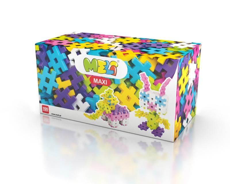 MELI Maxi PINK 100pcs -