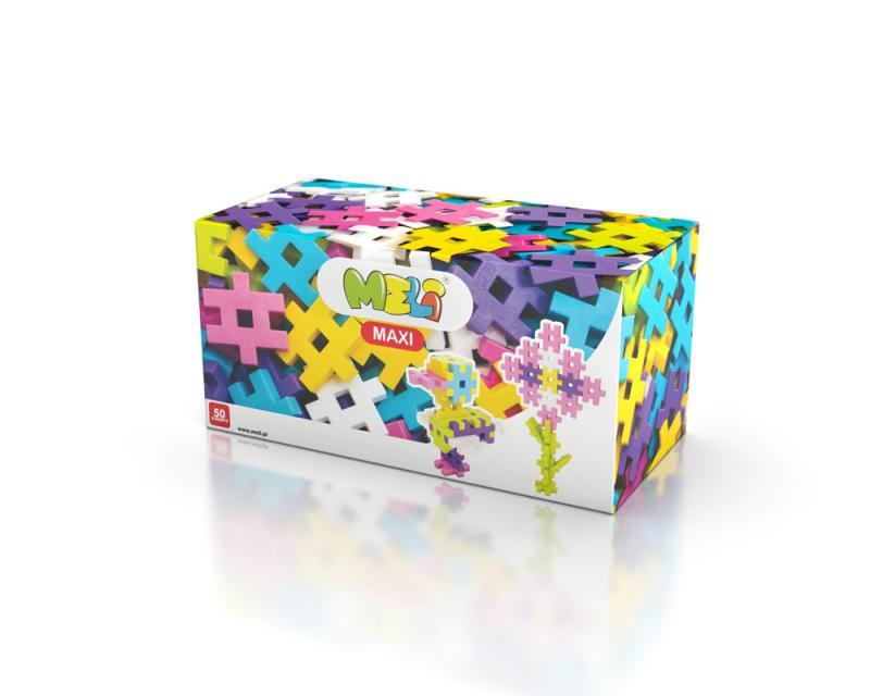 MELI Maxi PINK 50pcs -