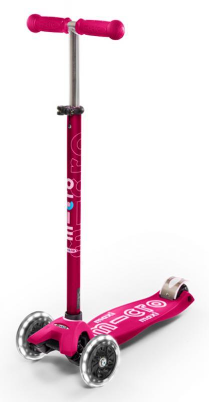 MAXI DELUXE ROSA LED - Maxi Deluxe Rosa - Ruedas Led