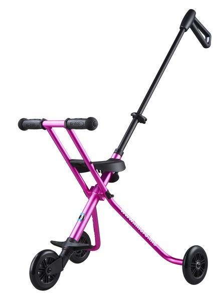 MICRO TRIKE DELUXE ROSA - El revolucionario sistema para pasear por la ciudad. Ahora con sujecion para los niños.