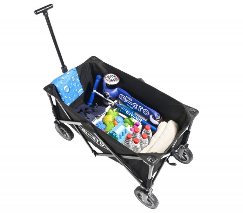 Micro Wagon - Carrito para transportar tus pertenencias a la playa, al campo o a donde tu quieras
