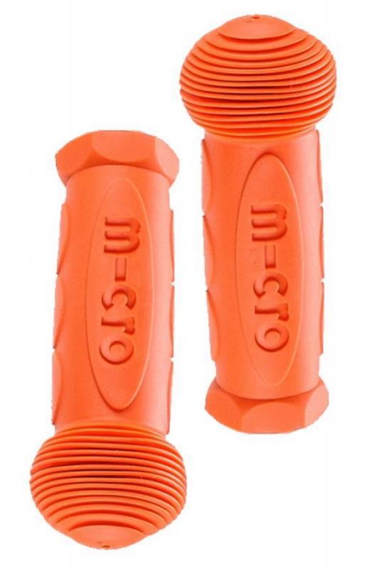 Puños Naranjas (AC6011) - Puños para Mini, Maxi, Cruiser, G-Bike y Kickboards.