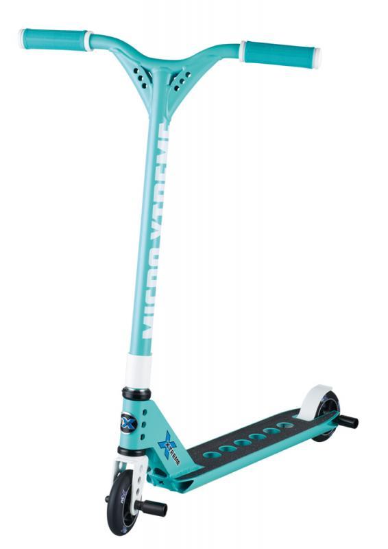 MX Trixx 2.0 Menta/Blanco - El MX TRIXX es un scooter intermedio, la mejor calidad para iniciarse en el mundo de las acrobacias.