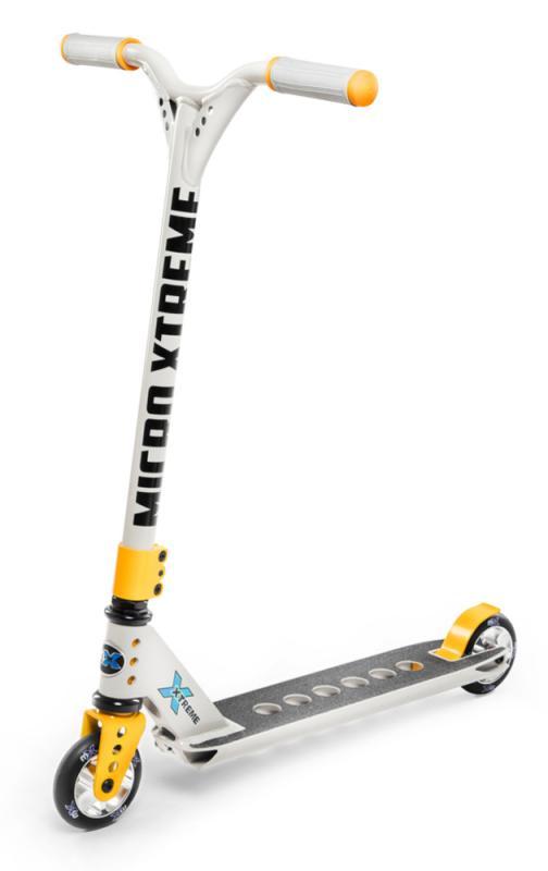 MX Trixx 2.0 Gris/Amarillo - El MX TRIXX es un scooter intermedio, la mejor calidad para iniciarse en el mundo de las acrobacias.
