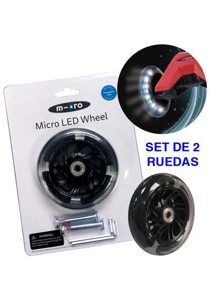 Rueda LED Maxi Micro 120mm - Rueda con LED de PU 120mm para los modelos MAXI Micro