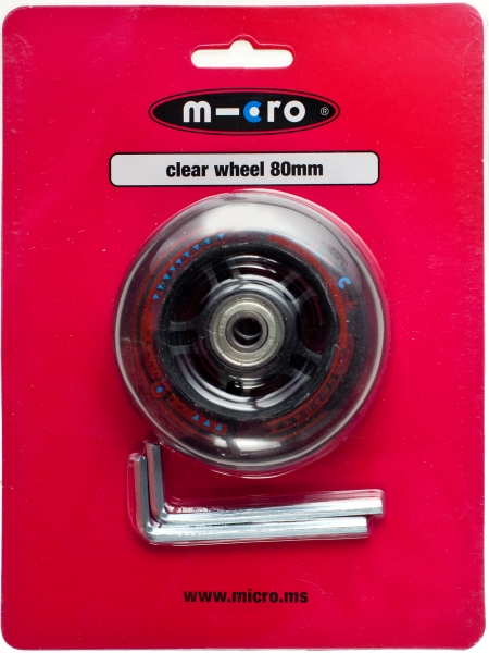 Rueda Trasera Mini&Maxi Micro - Rueda de PU 80mm para Mini&Maxi Micro (rueda trasera)