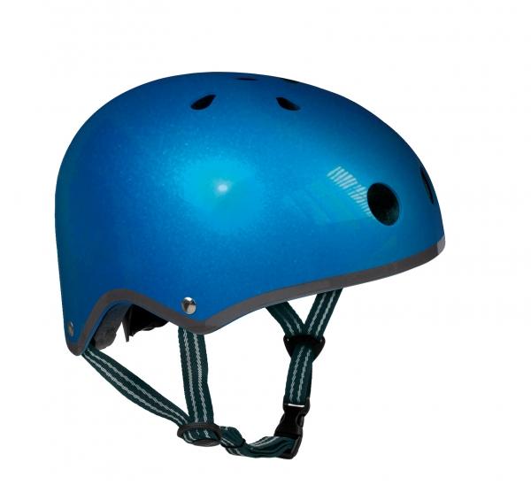 Casco Azul Metalizado -