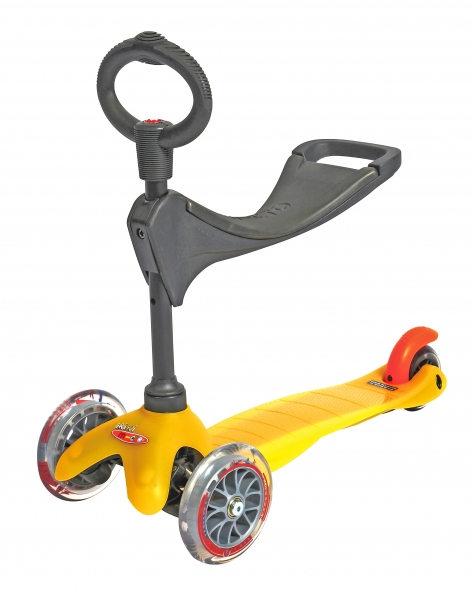 Mini Micro 3en1 Amarillo - Color Amarillo