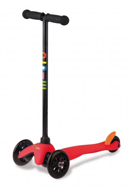 MINI-MICRO Rojo SE - Para niños de 2 a 6 años. Nuevo diseño.