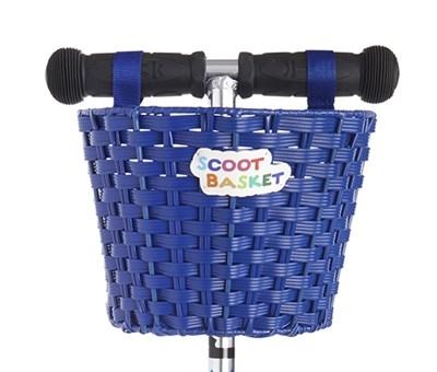 Scoot Cesta Azul - Cesta para colgar del manillar de tu patinete Micro